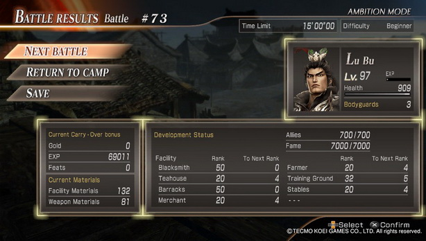Dynasty Warrior 8 Extreme Legend (45)