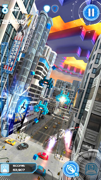 android-game-Jet-Run-City-Defender