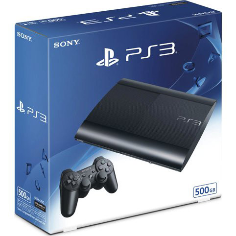 ps3 console super slim 500gb price