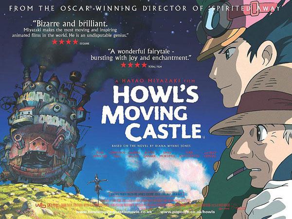 howls moving castle hd ซับไทย