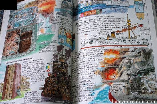 Porco-Rosso-Miyazaki's Daydream Data Note