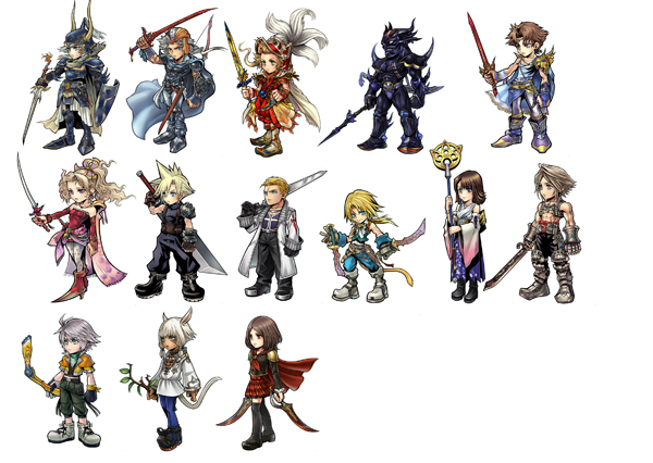 dissidia final fantasy ps4