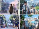 5 cm per second - realistic scenes in the animated of shinkai makoto (FB)