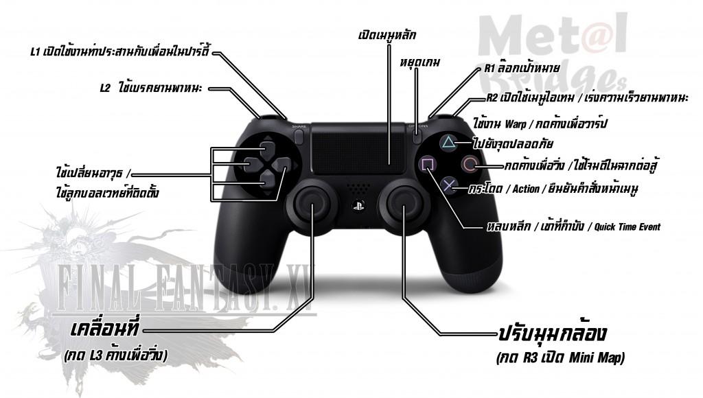 FF XV PS4_controller