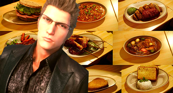 Final Fantasy XV-ALL FOOD etc (2)