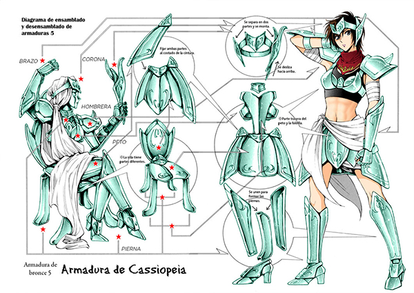 Saintia Sho, Saint Seiya cloth (5)