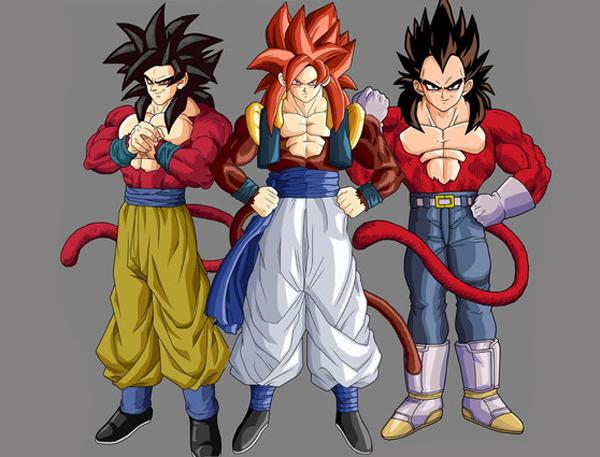 Super Saiyan 4 Goku & Vegeta (56)