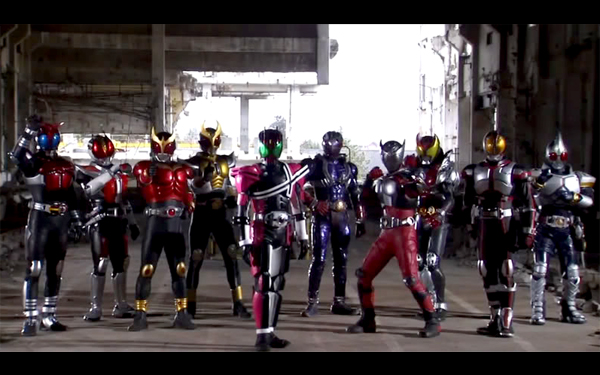 10 Rider Heisei Song 1
