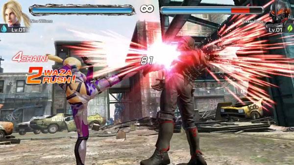 Tekken Mobile 01