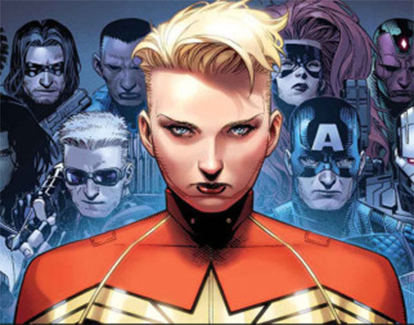 captain marvel 8nv