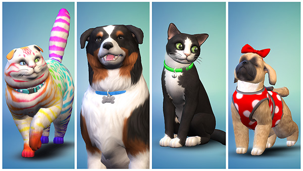 The Sims 4 Cats & Dogs pic 2