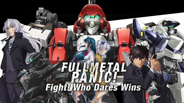 Full Metal Panic! Fight! Who Dares Wins 8