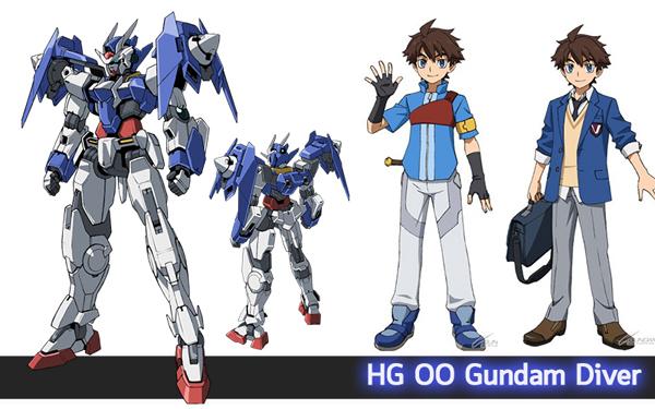 HG OO Gundam Diver (2)