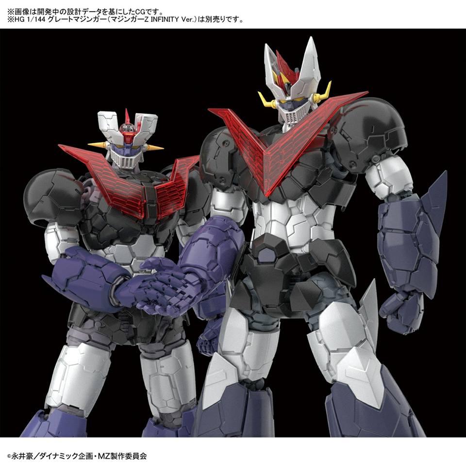 HG 1144 Mazinger Z ( マジンガーZ INFINITY Ver (4)