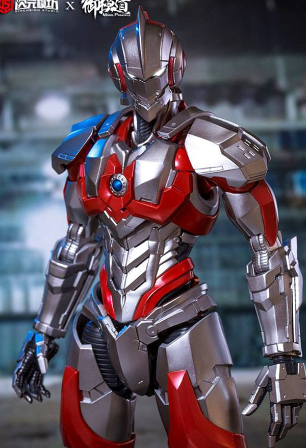 Dimension studio x Model Principle Ultraman suit Assembly model kit  (4)
