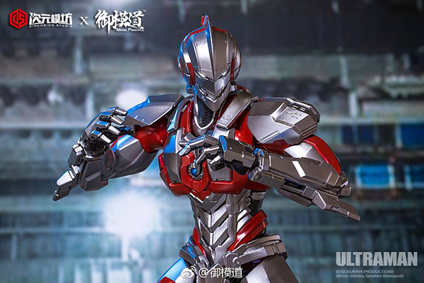Dimension studio x Model Principle Ultraman suit Assembly model kit  (6)