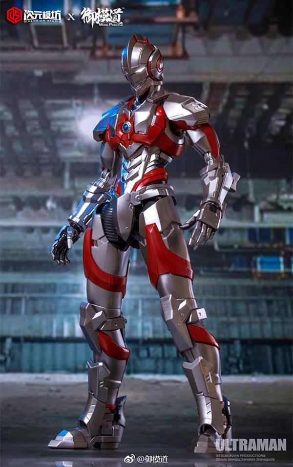 Dimension studio x Model Principle Ultraman suit Assembly model kit  (8)