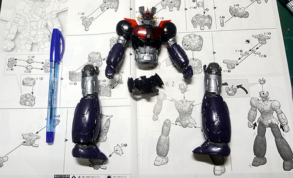 HG Mazinger Z infinity Review (11)
