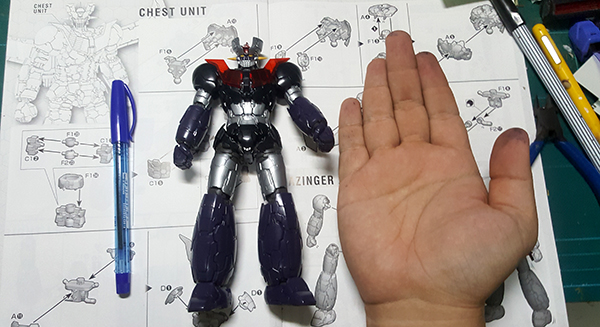 HG Mazinger Z infinity Review (12)