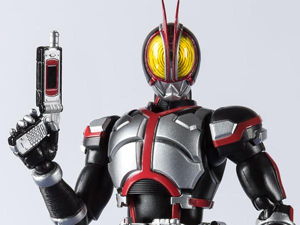 S.H. Figuarts Heisei Riders Rising Project  Vol. 1 - Kamen Rider Faiz (20 Kamen Rider Ki ( (4)
