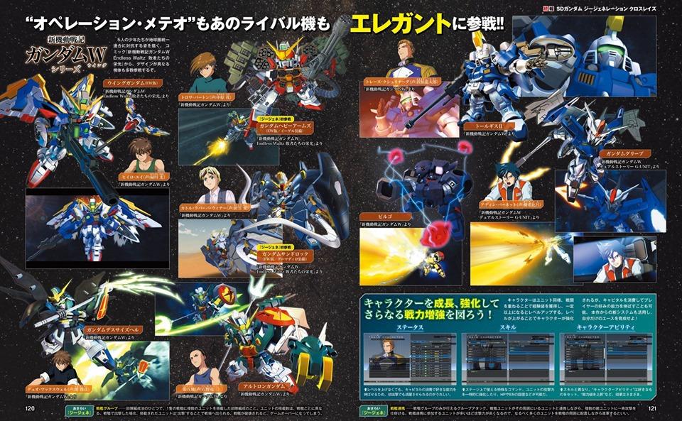 SD Gundam G Generation Cross Rays  Update (3)
