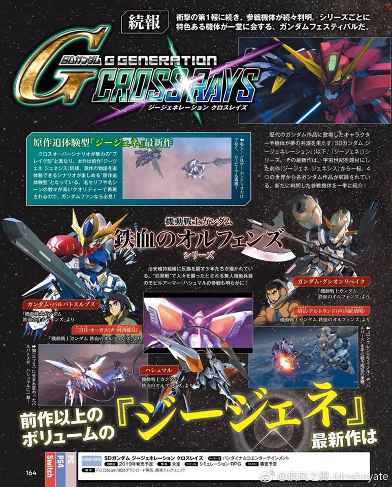 SD Gundam G Generation Cross Rays  Update (8)