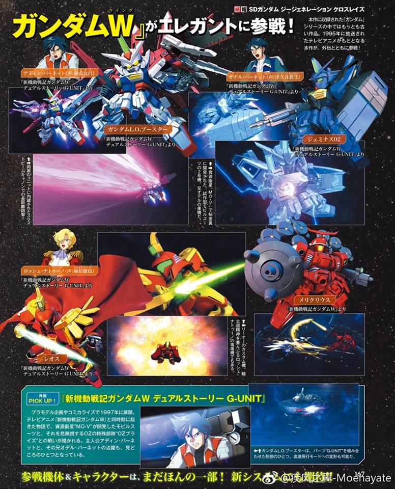 SD Gundam G Generation Cross Rays  Update (9)