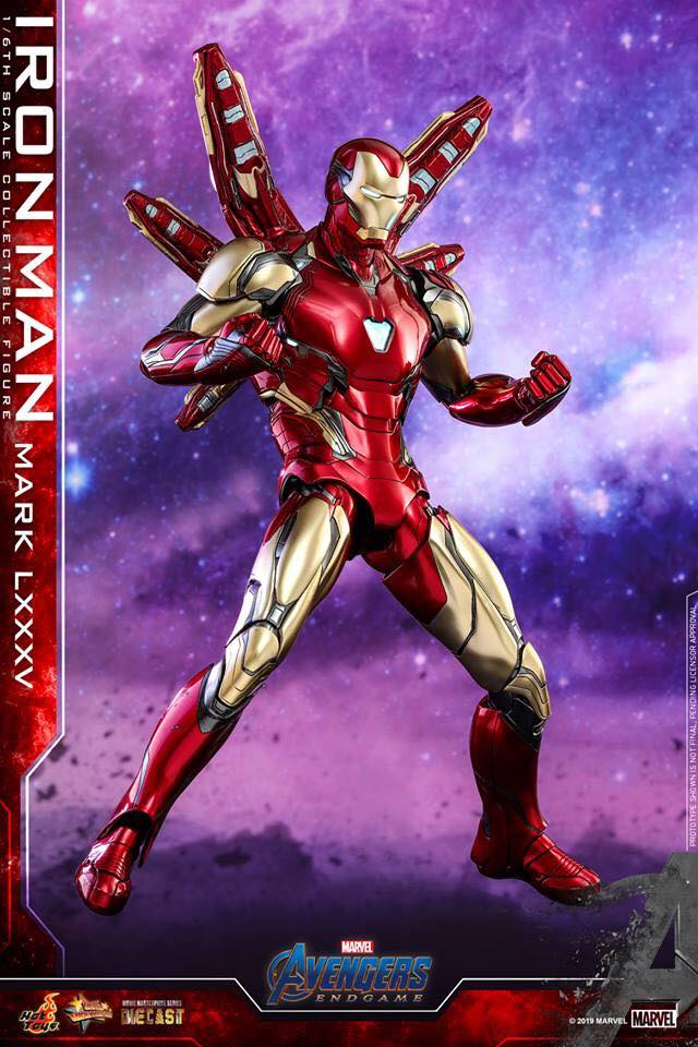 HOT TOYS  Iron Man Mark LXXXV (Avengers Endgame)  (1)