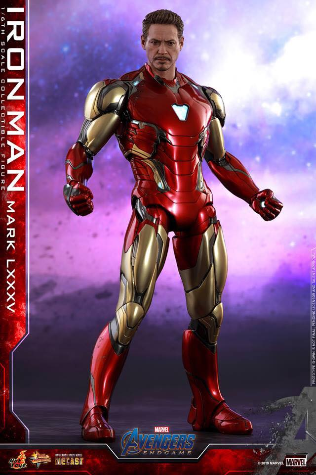 HOT TOYS  Iron Man Mark LXXXV (Avengers Endgame)  (10)