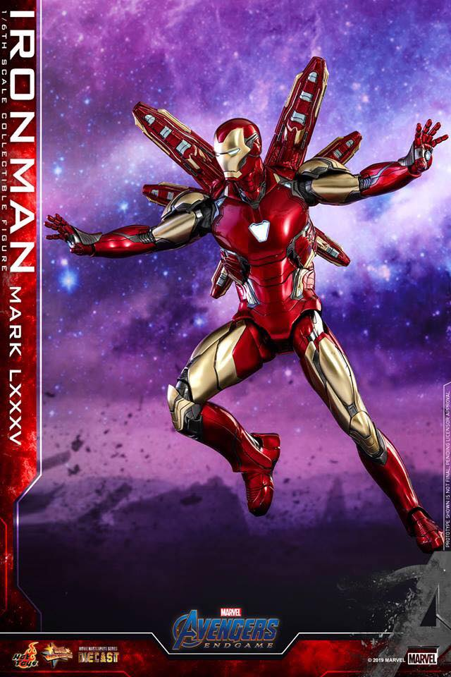 HOT TOYS  Iron Man Mark LXXXV (Avengers Endgame)  (11)