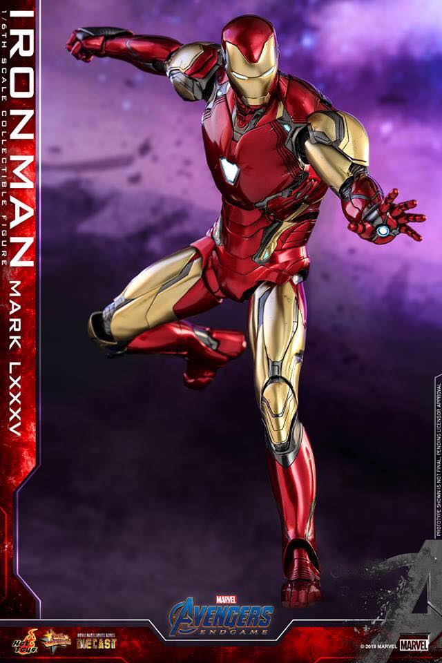 HOT TOYS  Iron Man Mark LXXXV (Avengers Endgame)  (19)