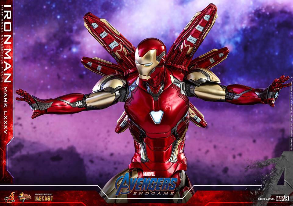 HOT TOYS  Iron Man Mark LXXXV (Avengers Endgame)  (7)