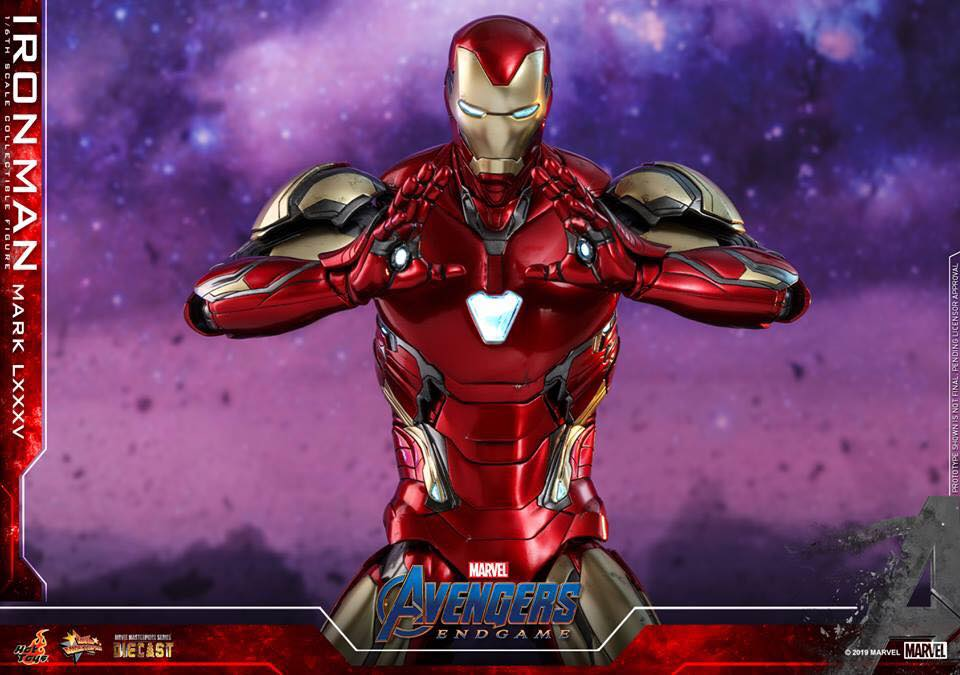 HOT TOYS  Iron Man Mark LXXXV (Avengers Endgame)  (9)