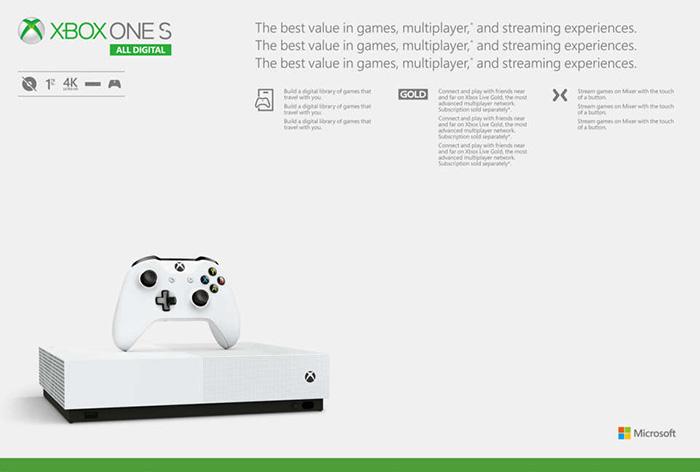 Xbox One S All-Digital Edition (3)