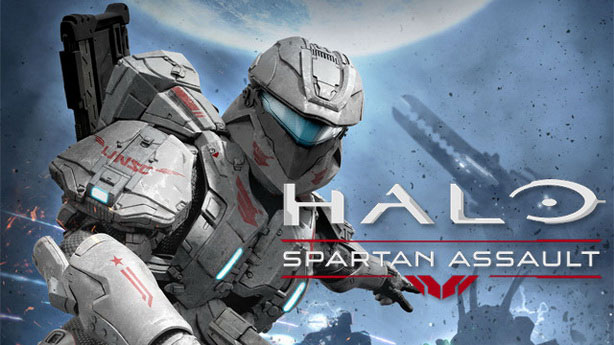 Halo-Spartan-Assault-Screenshot-Alien-Forest logo