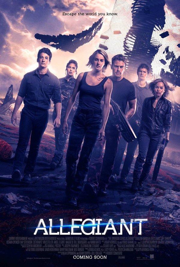The Divergent Series Allegiant - poster 3