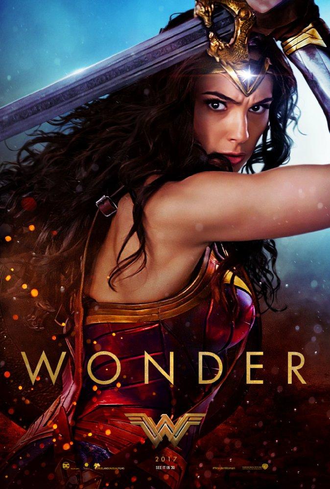 wonde rwoman poster