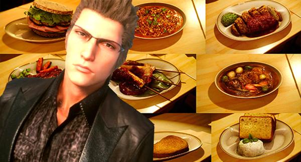 Final Fantasy XV-ALL FOOD etc (2)