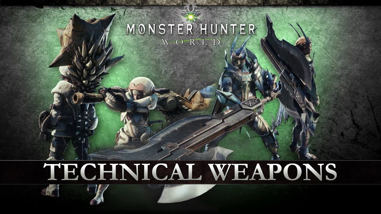monster hunter 14 weapon