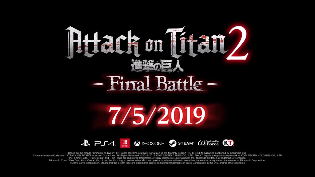 Attack on Titan 2_ Final Battle - Debut Trailer for Nintendo Switch HD.mp4_snapshot_01.47_[2019.03.14_11.40.44]