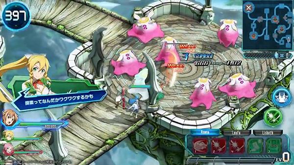 Sword Art Online Arcade_ Deep Explorer (5)