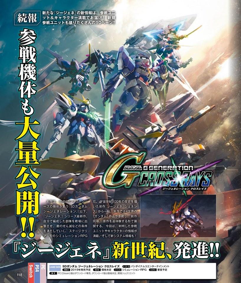 SD Gundam G Generation Cross Rays  Update (1)