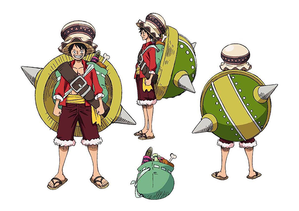 Production note-ONE PIECE STAMPEDE (2)