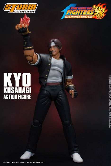 THE KING OF FIGHTERS '98 ULTIMATE MATCH KYO KUSANAGI (4)