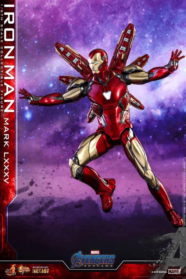 HOT TOYS  Iron Man Mark LXXXV (Avengers Endgame)  (11)