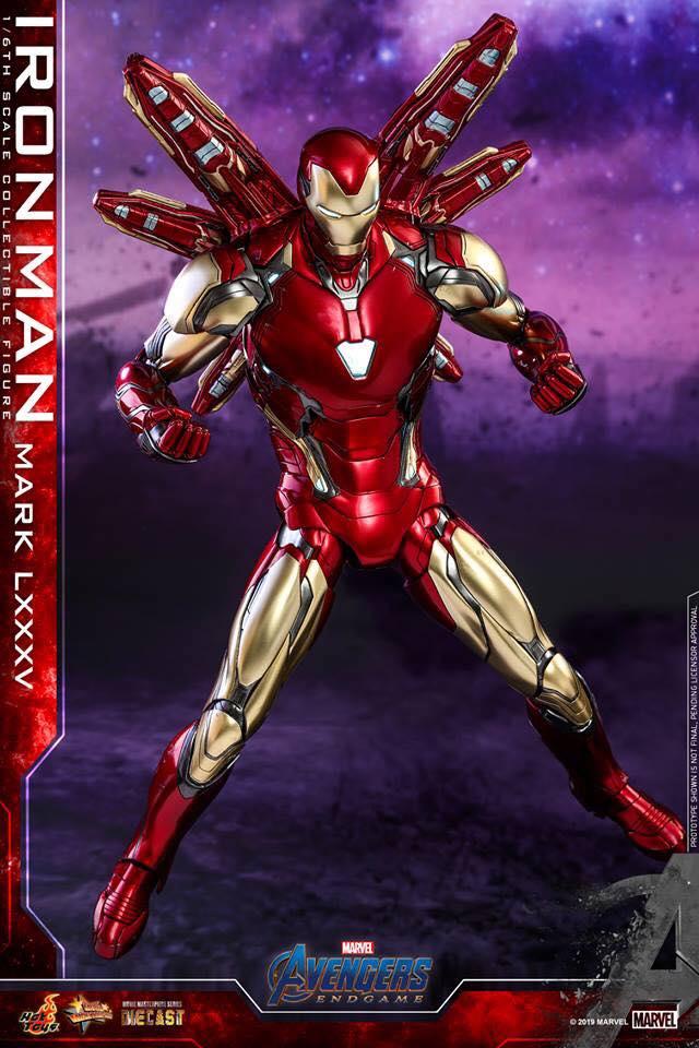 HOT TOYS  Iron Man Mark LXXXV (Avengers Endgame)  (12)