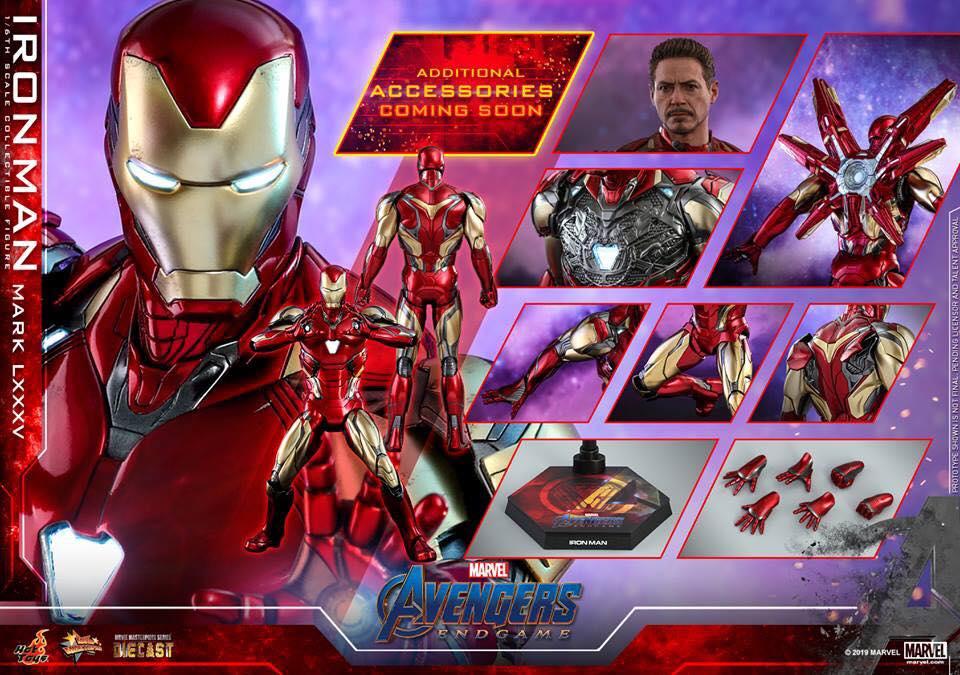 HOT TOYS  Iron Man Mark LXXXV (Avengers Endgame)  (17)