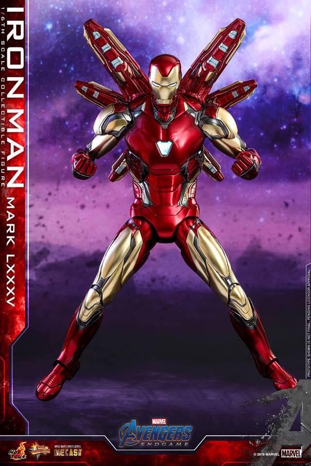 HOT TOYS  Iron Man Mark LXXXV (Avengers Endgame)  (21)