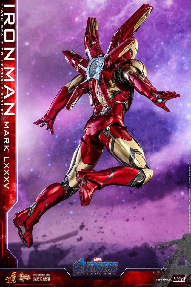 HOT TOYS  Iron Man Mark LXXXV (Avengers Endgame)  (3)