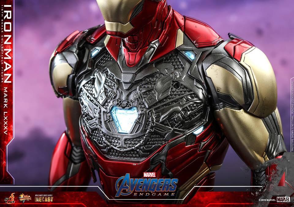 HOT TOYS  Iron Man Mark LXXXV (Avengers Endgame)  (4)